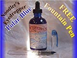 Noodler's Bottle 4.5 ounce Eyedropper Refill - Polar Blue 19805 by Noodler's Ink