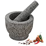 Anzone Solid Mortar and Pestle