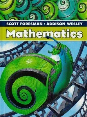 SCOTT FORESMAN ADDISON WESLEY MATH 2005 STUDENT EDITION SINGLE VOLUME   GRADE 5