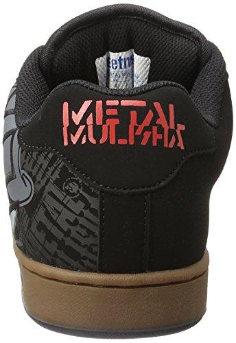 Etnies Nero Black Uomo Gum Metal Grey Sneaker Mulisha Fader awHqafpr