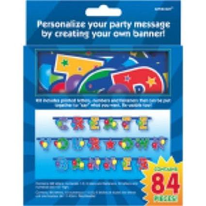 Amazon.com: Crea tu propio Banner Kit 84 Ct: Toys & Games