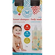 The Honest Co. Shampoo & Body Wash, Value Pack (2x 17 fl. oz bottles)