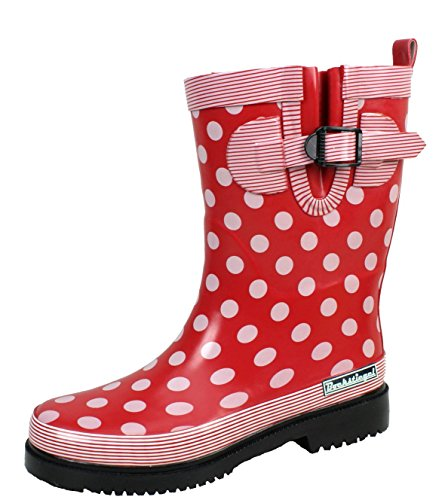 Multi 42 Donna pioggia Stivali Stivali da alla 36 Red moda DORIN di gomma Bockstiegel Taglie 6qzHz