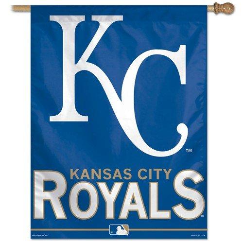 "MLB Kansas City Royals Vertical Flag, 27"" x 37"""