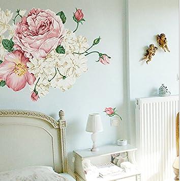 ivebetter Einzigartiges Vintage-Abnehmbarer Wandtattoo Schlafzimmer ...