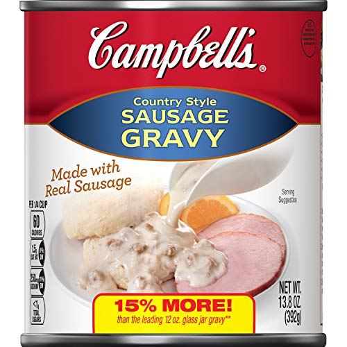 (Campbell's Country Style Sausage Gravy, 13.8 oz.)