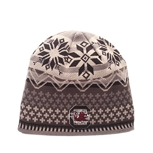 NCAA South Carolina Fighting Gamecocks Men's Oslo Knit Beanie, One Size, (Gamecocks Beanie)