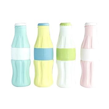 Rumas Portatodo Forma Botella Estuche Estuche Gran Capacidad, Bolígrafo Caja Contenedor para Niños Estudiantes Mujeres