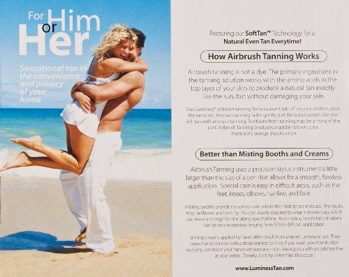 Luminess Air Airbrush Natural Glow Tanning Kit, Shade Medium