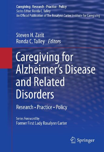 Download Caregiving for Alzheimer's Disease and Related Disorders: Research • Practice • Policy (Caregiving: Research • Practice • Policy) Pdf