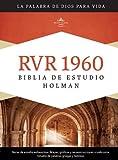 RVR 1960 Biblia de Estudio Holman, tapa dura con índice (Spanish Edition)