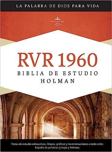 RVR 1960 Biblia de Estudio Holman, tapa dura con indice ...