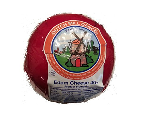 Dutch Mill Dance Edam Cheese 2 Lb. (Dutch Cheese)