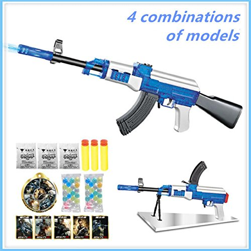 Crystal Bullet - Toy, Fun, Game, AK47 Elite Soft Bullet live CS plastic ABS Toy gun Sniper Rifle Capable Of Firing Bullets Water Soft Crystal Paintball toys gun, Children, Kids, Play