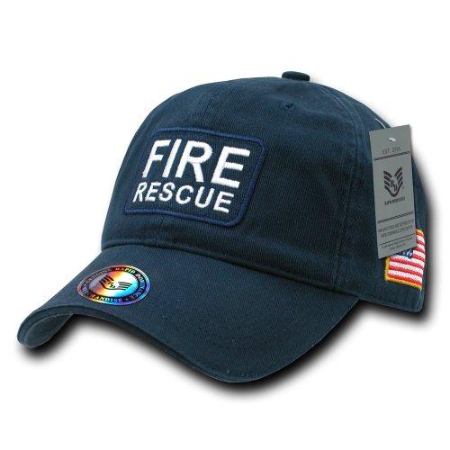Rapiddominance Fire Rescue Dual Flag Raid Cap