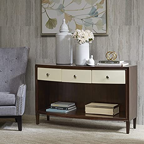 Console Table Dunkin Morocco Brown Ivory