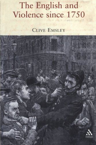 The English and Violence since 1750