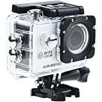 ABLEGRID AG4000 30-meter Waterproof 12MP 2.0 inch WIFI 1080P HD Sports Action Camera with 170° wide Angle Lens White