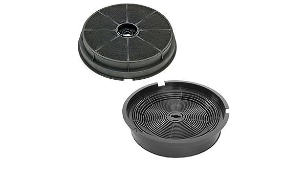 Spares2go Carbon Charcoal Vent filtro para Cooke & Lewis Horno Campana (2 unidades): Amazon.es: Hogar