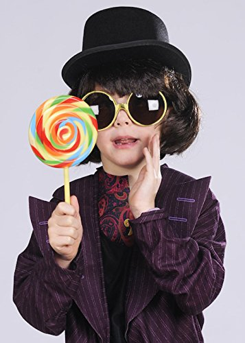 Kids Willy Wonka Style Accessory Kit -