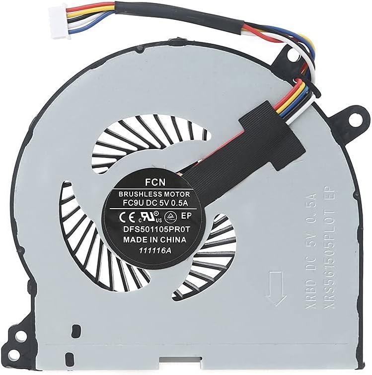 Wenyounge Reemplazo de Ventilador de CPU para computadora portátil IdeaPad 310-14ISK / IAP 310-15ISK / IKB Ventilador de CPU de 5 Pines refrigerado por Aire, Flujo de Aire Fuerte