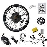 """8. MammyGol 26"""" Rear Wheel Electric Bicycle Conversion Kit, 48V 1000W E-Bike Motor Kit"""