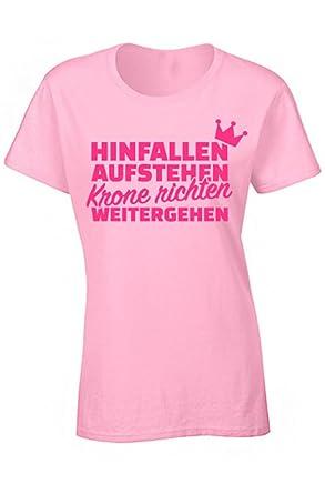 Bfbe Hinfallen Aufstehen Krone Richten Weitergehen I Fun Shirt I