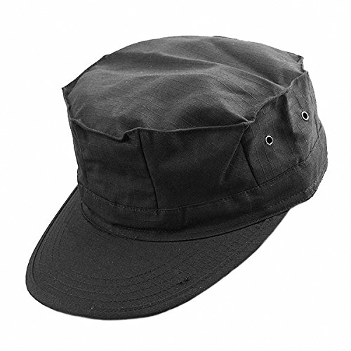 Visor Military Style Cap (squaregarden Cadet Army Cap for Men Military Style Hats)