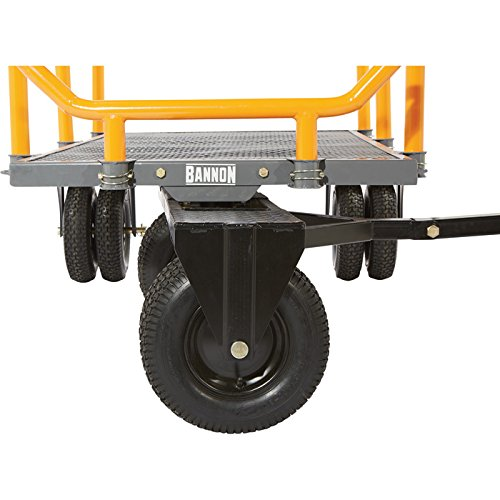 Bannon 3-in-1 Convertible Logging Wagon - 1,800-Lb. Capacity, 72in.L x 38in.W
