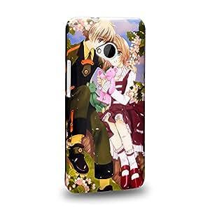Case88 Premium Designs Cardcaptor Sakura Syaoran Skaura 1365 Carcasa/Funda dura para el HTC One M7