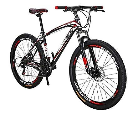 "9d7fd89fdaa Extrbici Mountain Bicycle 21 Speed 27.5"" Spoke Wheel Dual Disc Brake,Dual  Suspension X1"