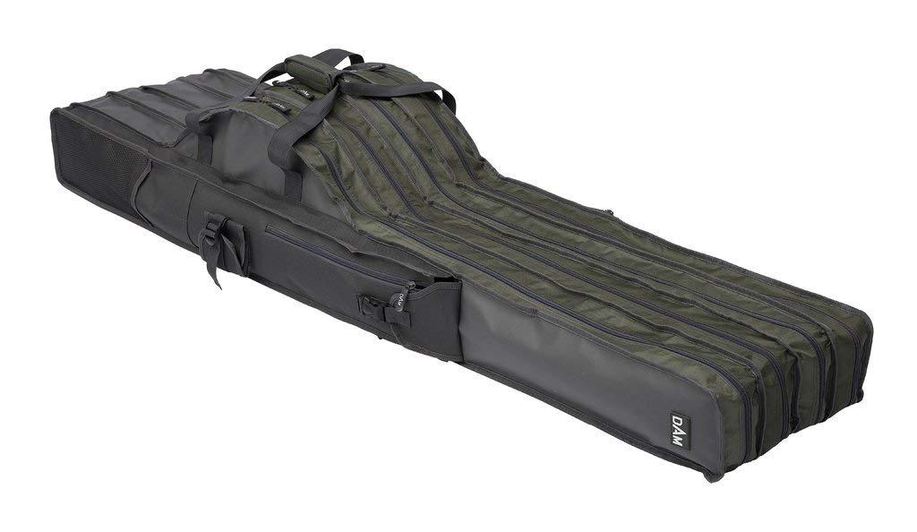 D-A-M Dam Rutentasche mit wahlweise 2 3 oder 4 F/ächern L/änge von 1,10m Modell 2019 aus 100/% robustem Polyester