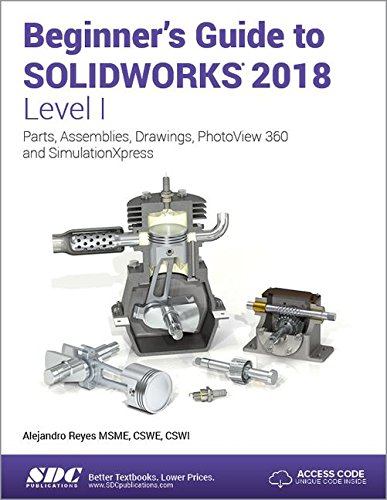 Pdf Computers Beginner's Guide to SOLIDWORKS 2018 - Level I