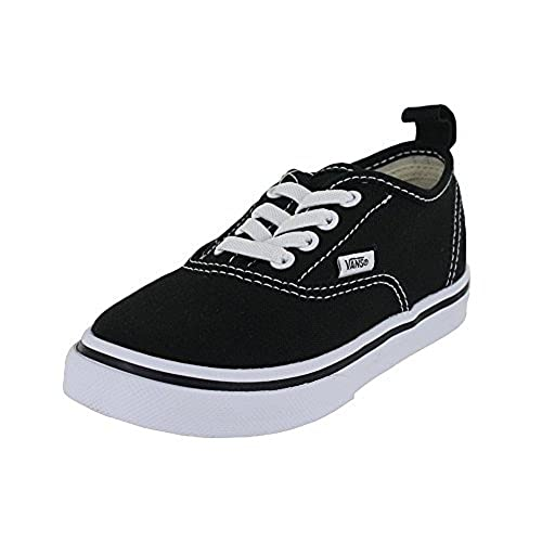4e64f4d5533815 Vans Toddler T Authentic Elastic Lace Black True White Size 5 ...