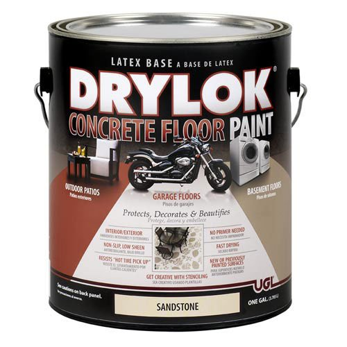 DRYLOK Concrete Floor Paint, 1 Gallon, Sandstone