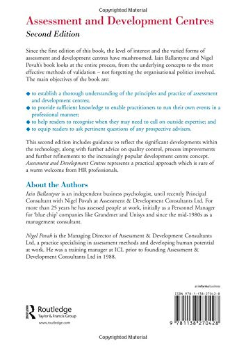Assessment and Development Centres: Amazon co uk: Iain
