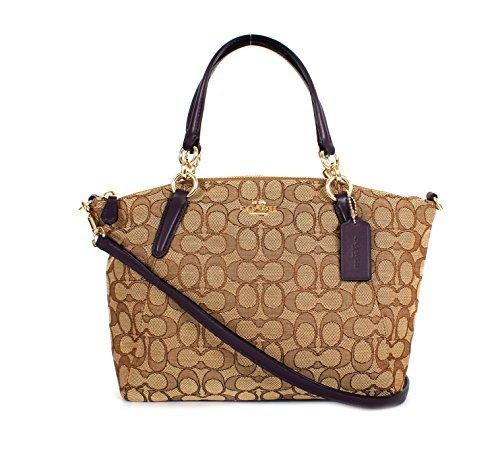 Purple Coach Handbag - 5