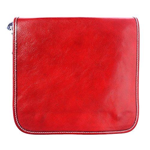 Bolso para 6551 Hombre Rojo de hombro parzqpx