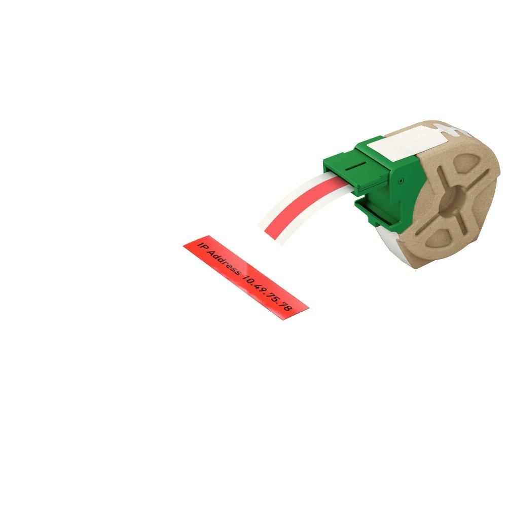 Leitz Icon Cartucho Inteligente de Etiquetas de Plástico, Rojo, 12mm ancho, 10m largo, 70150025: Amazon.es: Oficina y papelería
