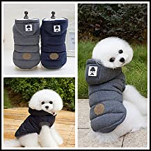 Hommii Pet Hoodies Clothes for Dog Cat Puppy Coat Winter Sweatshirt Warm Jacket Apparel Sweater