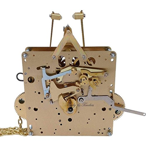 Hermle Clock Movement - Qwirly Store: Grandfather Clock Movement by Hermle 451-053H DB with 94 cm Gearing, Westminster Chime (94 cm)