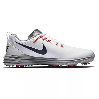 c843699aca6 Nike Lunar Command 2 Golf Shoes 2018 White Thunder Blue Wolf Gray Rush