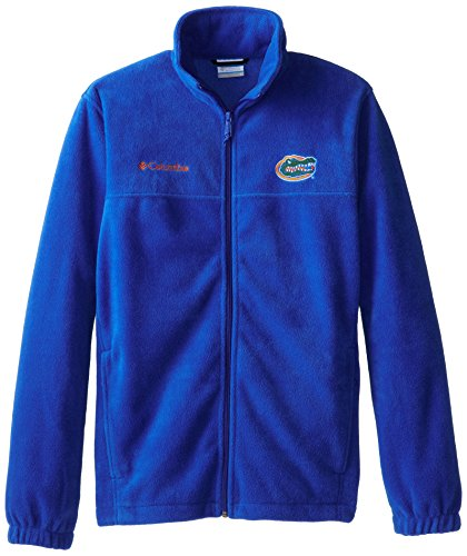 NCAA Florida Gators Men's Collegiate Flanker II Full Zip Fleece Sweater, Azul, (Mens Flanker Full Zip Fleece)