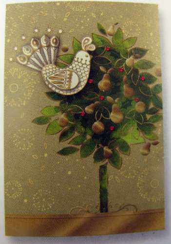 Amazon hallmark christmas boxed cards px2445 3 d partridge in hallmark christmas boxed cards px2445 3 d partridge in a pear tree m4hsunfo