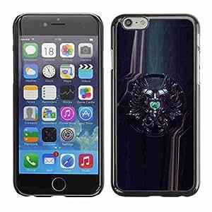 "Planetar® ( Sci Fi Crest ) Fundas Cover Cubre Hard Case Cover 4.7"" iPhone 6"