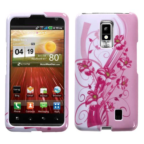 MYBAT Blooming Lily Phone Protector Cover for LG VS920 (Spectrum)