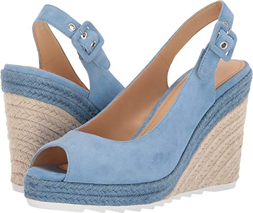 Nine West Women's Zoey Blue 8 M US (8 Nine Shoes Woman West Wedge)