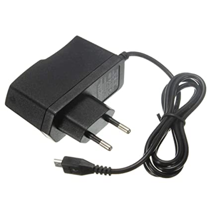 Amazon com: 5V 2A EU Power Supply Micro USB AC Adapter Charger For