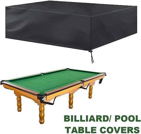 SJMDZZ 7FT / 8FT / 9FT Cubierta de Mesa de Billar/Snooker Cubierta ...