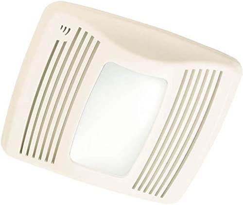 Broan QTXEN110SFLT Ultra Silent Humidity Sensing Ventilation Fan w Light Night-Light, 6 Ducting 110 CFM